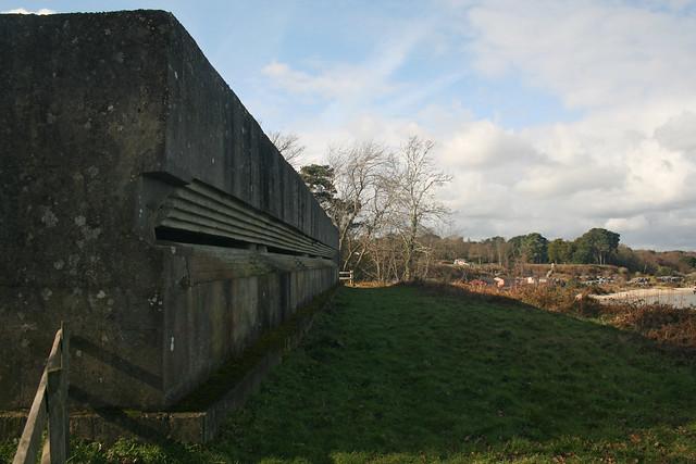 World War II lookout above Studland