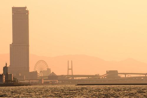 貝塚市 大阪府 japan sunset 夕景 関西空港 海 seashore