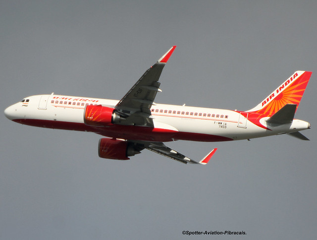 Air India. First Airbus A320 NEO For the Company.