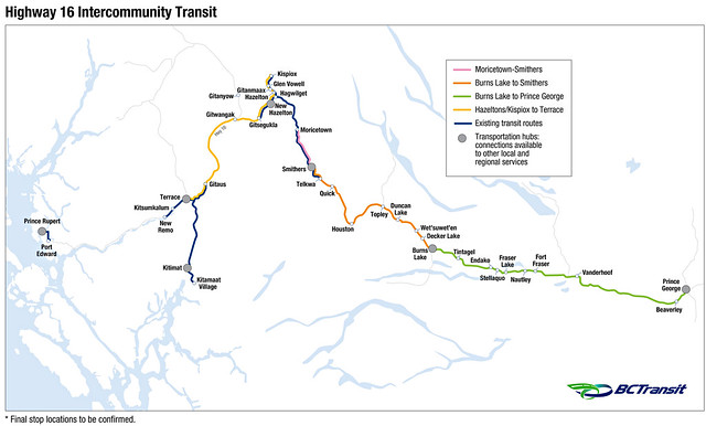 New Transit Service for Highway 16