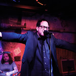 Wed, 26/03/2014 - 4:28pm - The Hold Steady on release day for Teeth Dreams, at Hill Country BBQ in NYC, with an audience of WFUV Marquee Members. Hosted by Dennis Elsas. Photo by Gus Philippas.