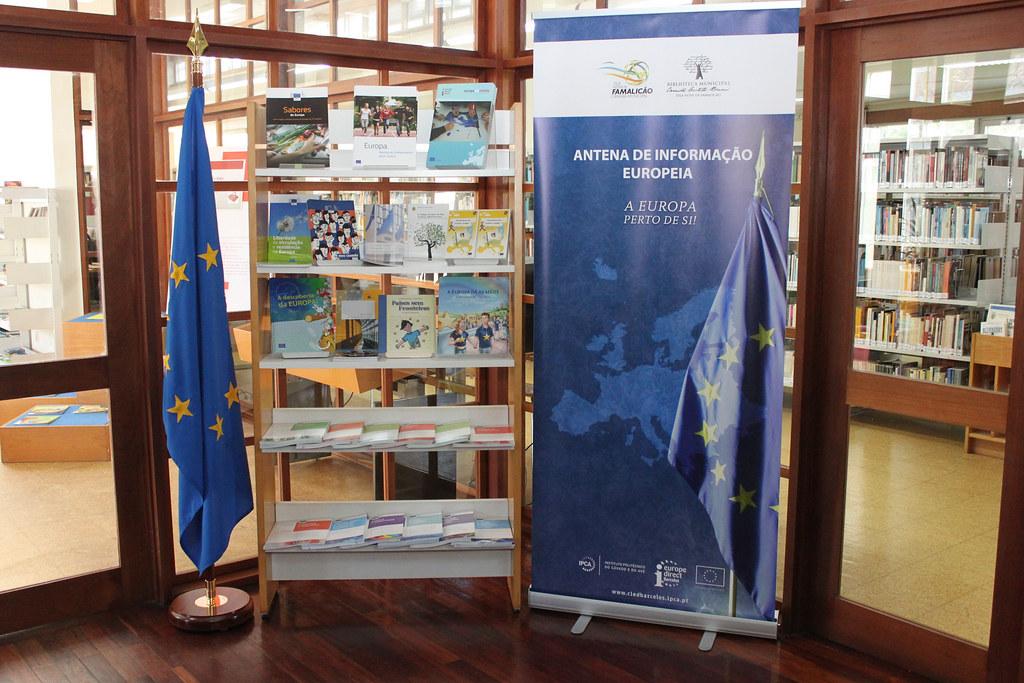 Inauguração da Antena de Informação Europeia do CIED Barcelos em Vila Nova de Famalicão