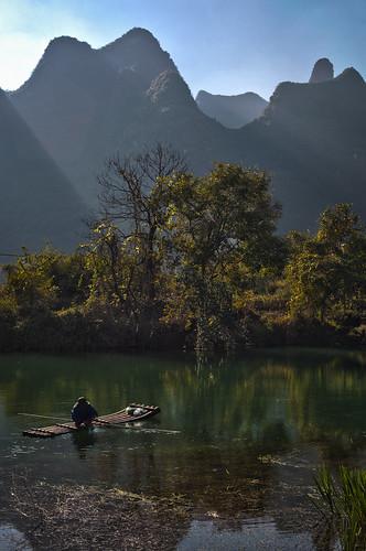 Li river boatman