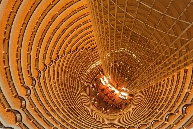 Jin Mao tower - Grand Hyatt lobby