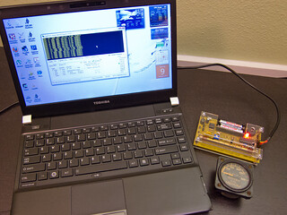 Logging data from the Geiger Counter Kit
