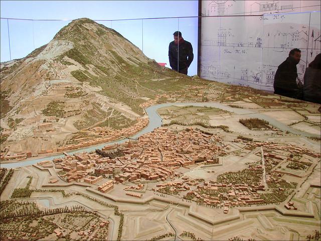 Le plan-relief de Grenoble au Grand Palais
