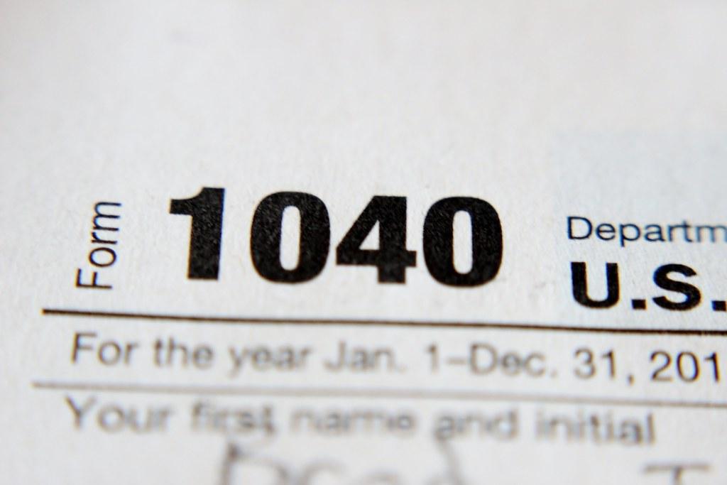 IRS Form 1040 | Bradley Gordon | Flickr