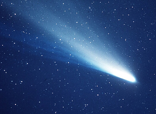 Comet Dust Trail Simulation
