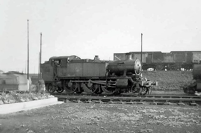 4103 at Oxley shed, September 1963