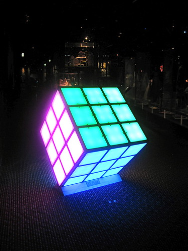 Giant Rubik's Cube, Powerhouse Museum | by Stephen Kelly Photography