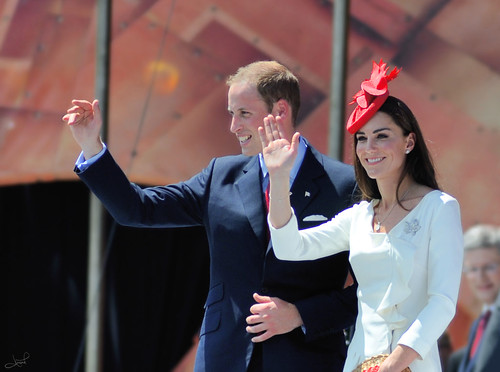Kate and William, Canada Day, 2011 | by tsaiproject