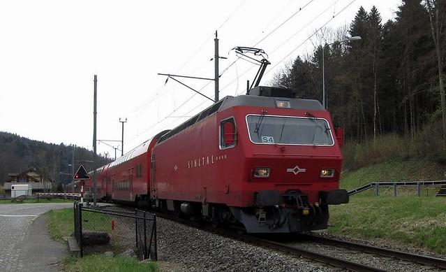 Sihltalbahn Zurich Switzerland