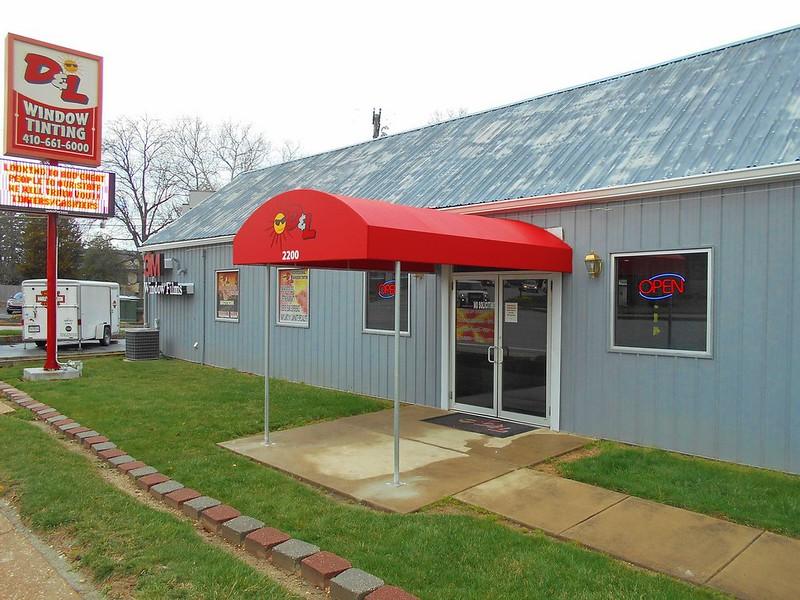 Entrance Canopy Window Tinting Company-Entrance