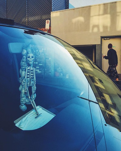 Rear View Mirror Skeleton | by Looking Glass