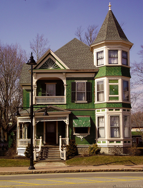 Victorian House on Main Street