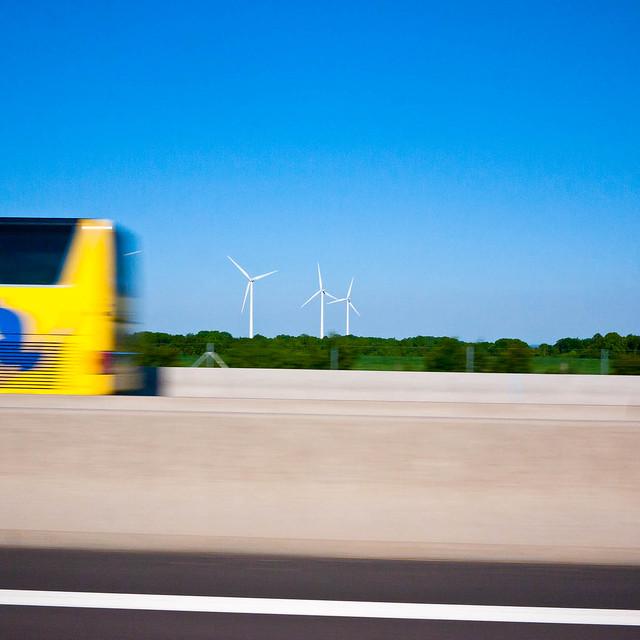 Bus and windmills (May 25)