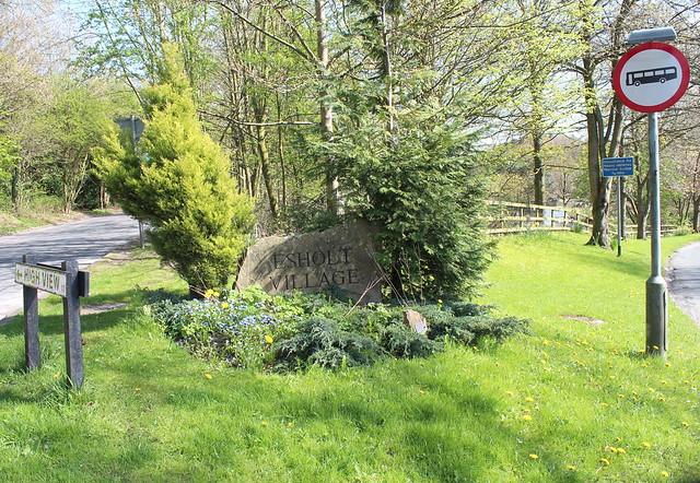 Esholt Village Namestone