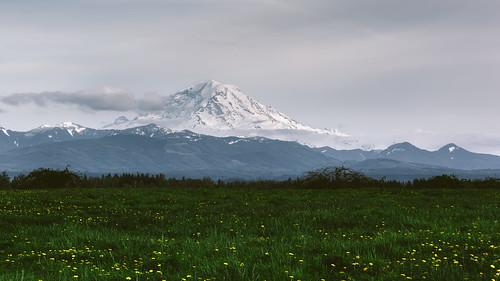 mtrainier buckley pacificnorthwest mountain landscape greengrass clouds canon scenic scenery cloudy day canonef100400mmf4556lisusm canoneos5dmarkiii washington