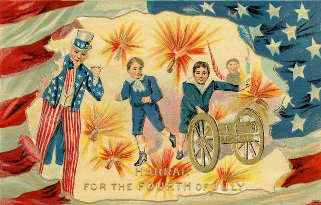 Hurrah for the Fourth of July
