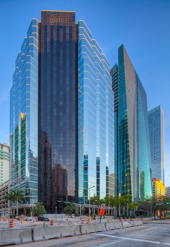 Miami Skyscraper Cluster