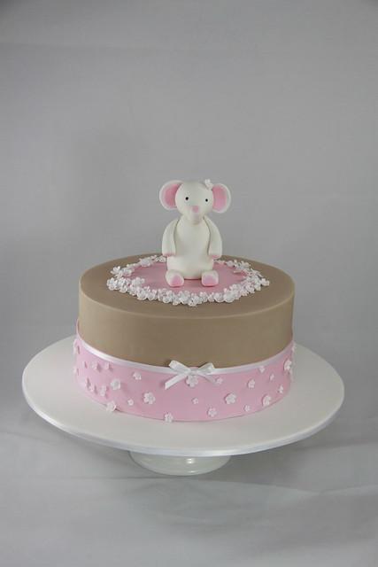 Cloe Christening Cake