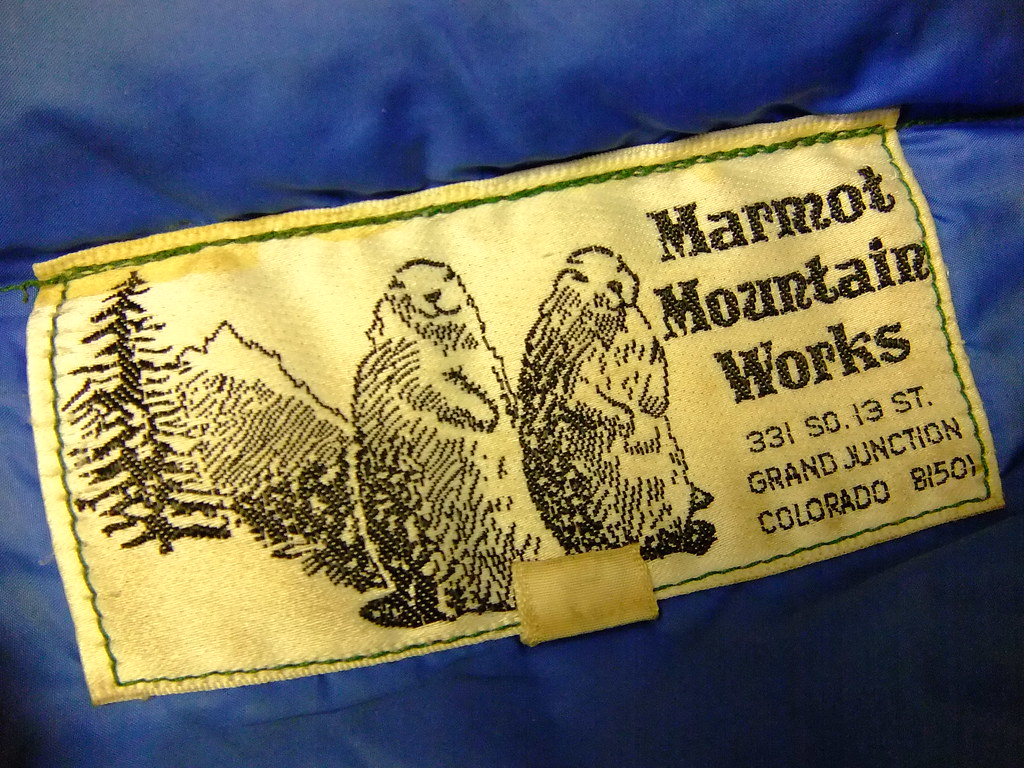 Vintage Marmot Jacket Label | Mountain Soles & Outdoor