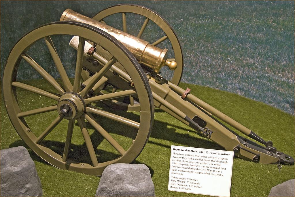 Reproduction Model 1841 12-Pound Howitzer -- Kenosha (WI