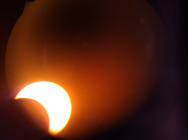 Eclipse through filtered scope