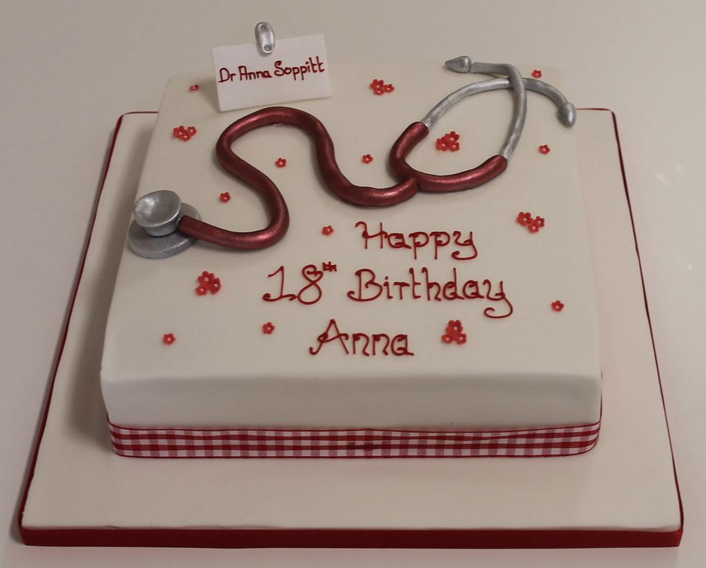 Stethoscope Cake Sweetie Darling Flickr