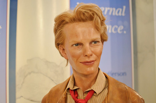 Amelia Earhart at Madame Tussaud's New York | by InSapphoWeTrust