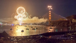The Planning and Shooting of the Golden Gate Bridge Fireworks 2012 | by Stew_Bayarea