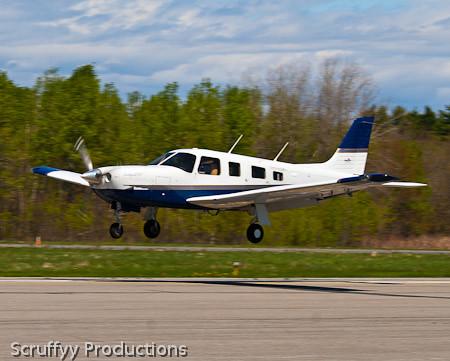 Piper PA-32 Saratoga N722G