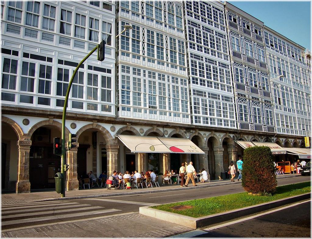 2699 Galerias De La Marina En Coruña Las Galerías De La Co Flickr