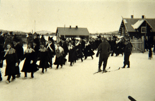 Samebryllup i Karasjok, 1940