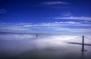 Bay Bridge Fog | by ericwagner