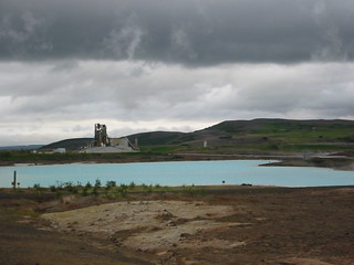 Thermal pool and plant, Myvatn