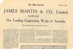 The Critic Souvenir sep1906 page8 James Martin