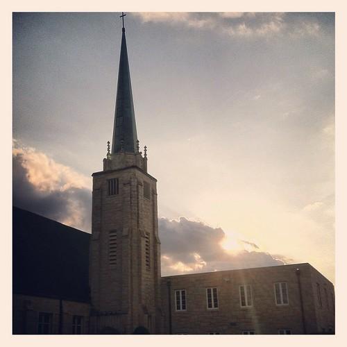 sunset sc church lexington steeple iphone