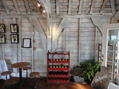 Tasting Cottage, Slack Winery, Ridge