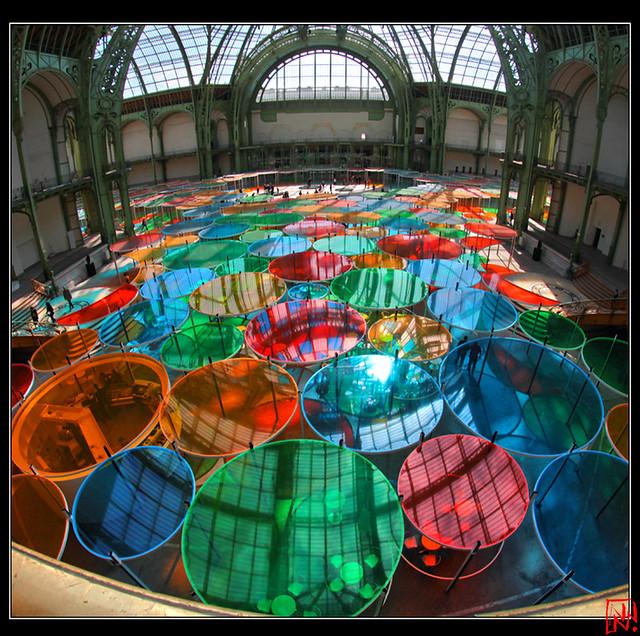 Daniel Buren, Monumenta 2012 Excentrique(s) 7/10