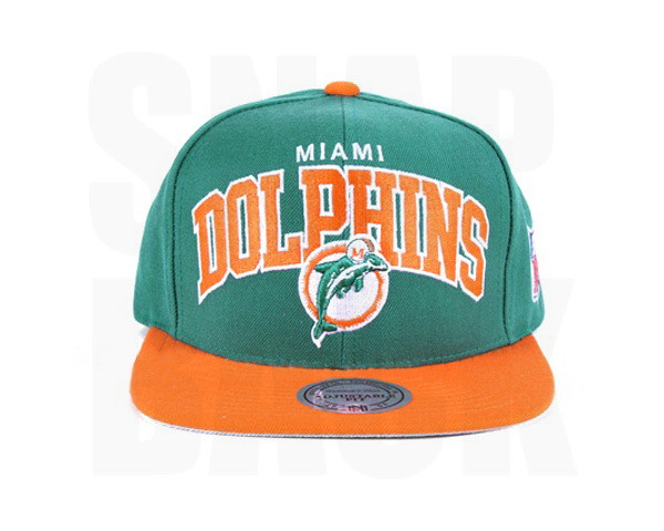 255872cc3 Dolphins Snapback Hats Mitchell Ness Miami Caps NFL Teal O… | Flickr