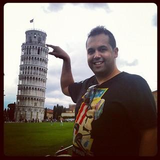 Had to be done :) leaning #tower #pisa | by addhass