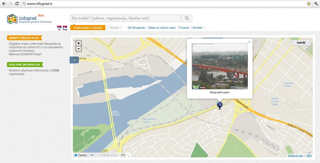 Mapa Beograd Plan Mapa Beograd Www Infograd Rs Infograd Flickr