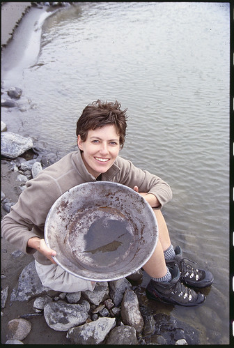 Gold Panning at Echo Valley Ranch | by Echo Valley Ranch (www.evranch.com)