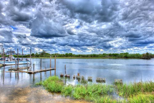 new blue sky cloud water creek point bay boat newjersey nikon skies great egg leeds nj jersey oyster brigantine d800 forsythenwr 2470 forsythenationalwildliferefuge oceanville nikon2470mmf28 nikond800 bkushner ©brianekushner