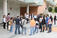 El grupo de vecinos de la reunión del 9 de mayo
