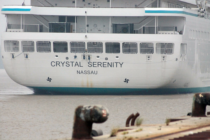 Paquebot Crystal Serenity - Port de Bordeaux-Bassens - 26 mai 2012