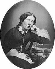 <p>Harriet Beecher Stowe (1811-1896), schrijfster van de &quot;Hut van Oom Tom&quot;, de meest belangrijke tekst voor de afschaffing van slavernij in de VS. bron: Wikipedia.</p>