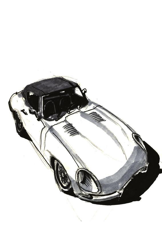 Jaguar E-Type 1962 (Techno Classica Essen 2014)