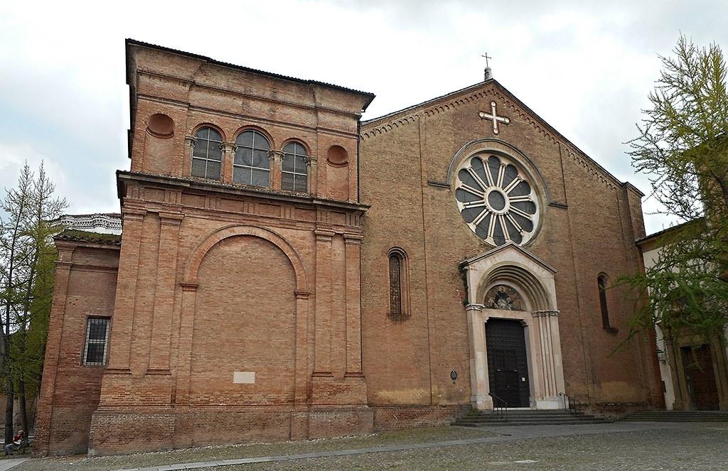 San Domenico Church (1228-1238) and Ghisilardi chapel (1530-1535 by Baldassarre Peruzzi) at Bologna